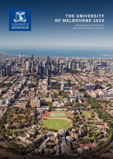 Picture of The University of Melbourne 2020 profile